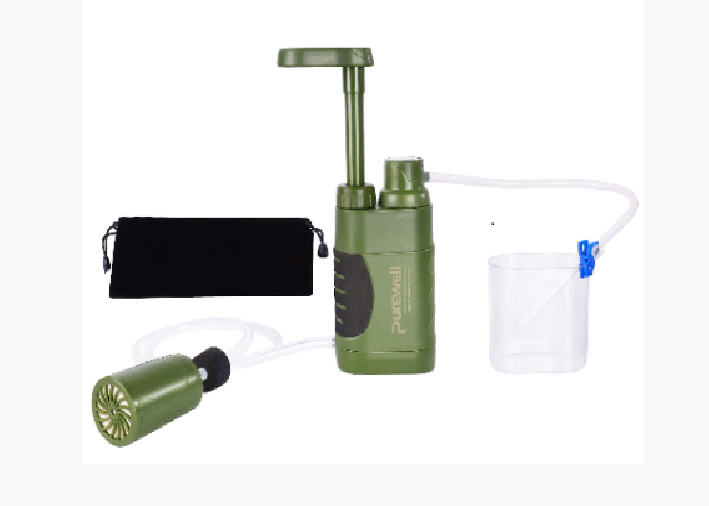 Purewell Portable Hand Pump Water Filter Review