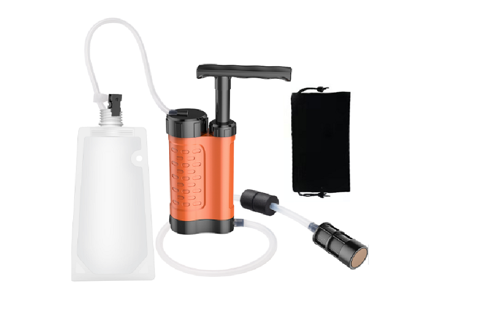 Outdoor Personal Water Filter Pump