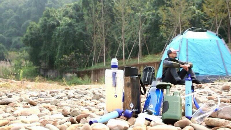 Portable Water Filter Bottle For Travel