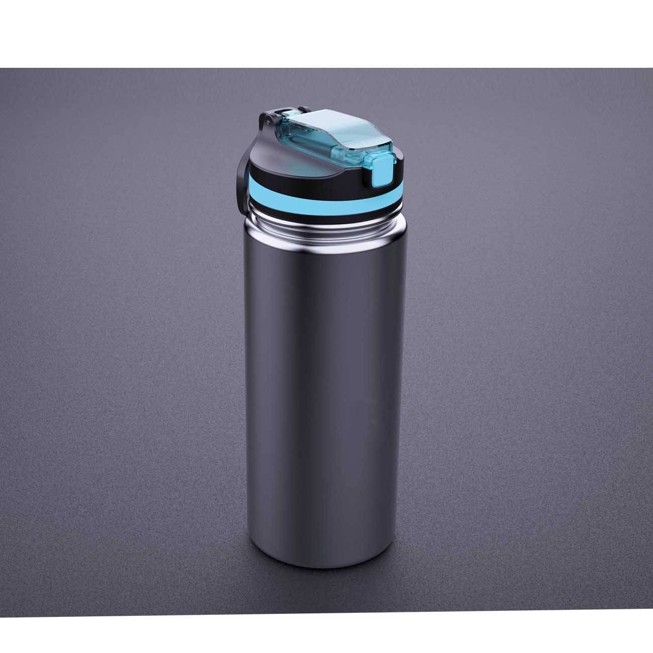 Purewell Stainless Steel Vacuum Water Filter Bottle K8638