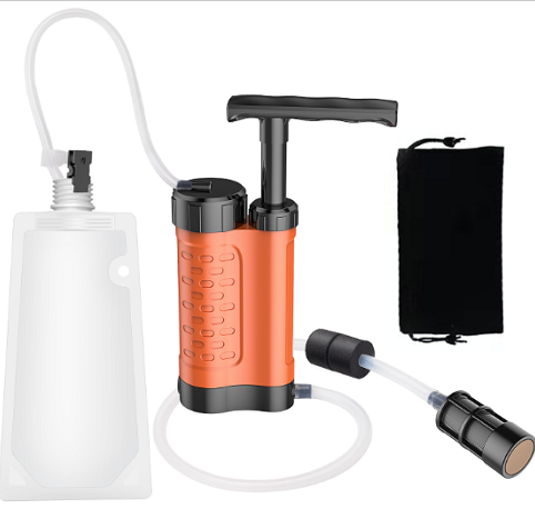 Purewell Tactical Portable Water Filter Pump K8188