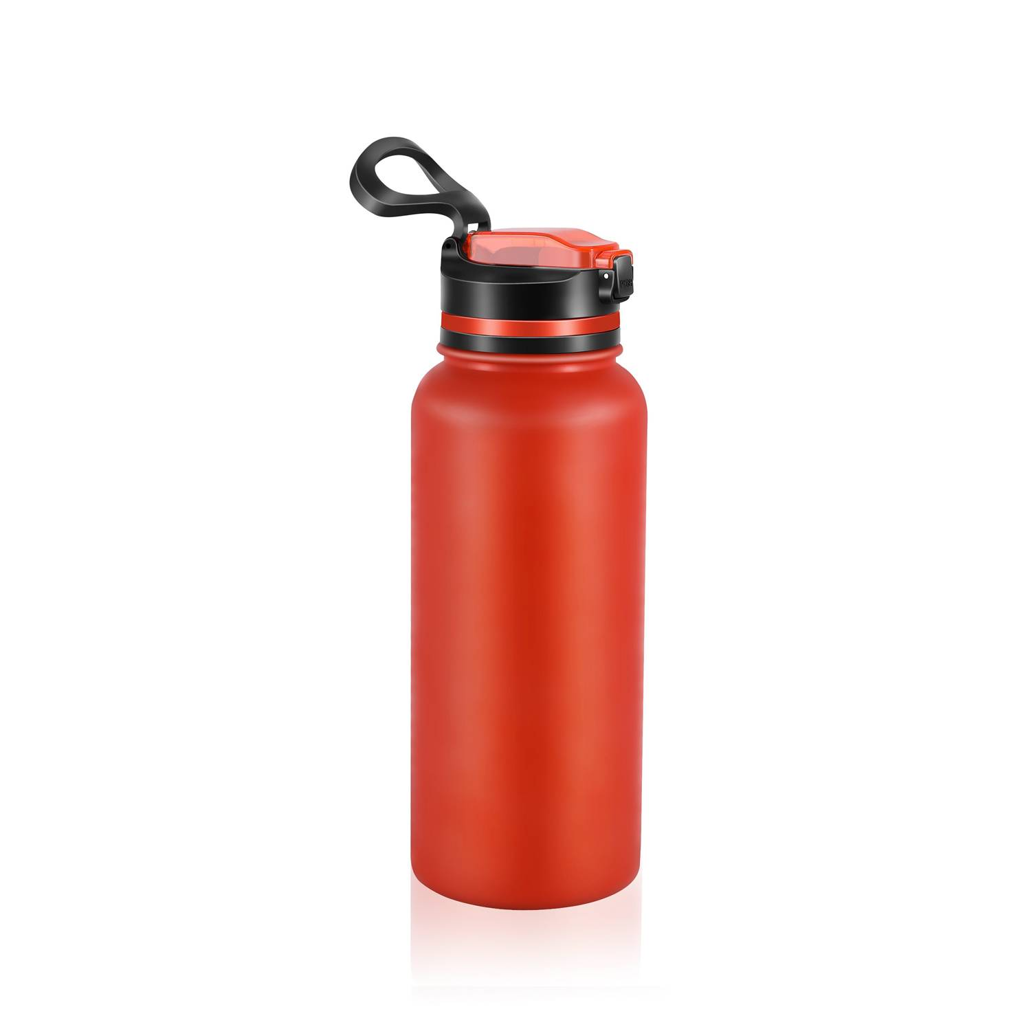 Purewell Stainless Steel Vacuum Water Filter Bottle 1000ml K8639