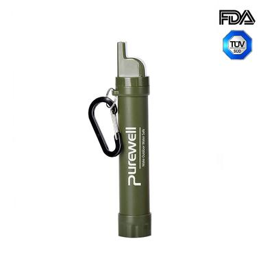 Best Purewell Personal Water Filter Straw alternative to LifeStraw Original