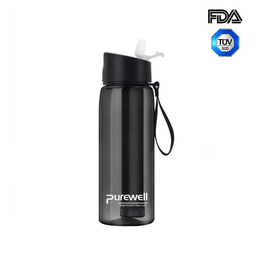 Purewell Personal Water Filtered Bottle 650ml alternative to LifeStraw Go K8629