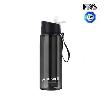 Purewell Personal Water Filtered Bottle 650ml alternative to LifeStraw Go
